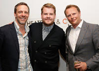 Trevor White, James Corden and Neil Stuke at the Opening Night of the US premiere of