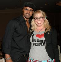 Shemar Moore and Kirsten Vangsness at the 14th Annual Diversity Awards.