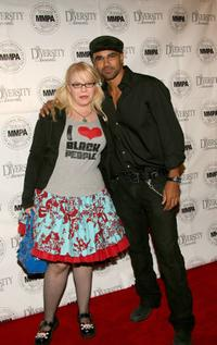 Kirsten Vangsness and Shemar Moore at the 14th Annual Diversity Awards.