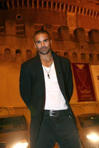 Shemar Moore at the Castel SantAngelo for the opening day party of RomaFictionFest.