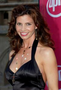 Charisma Carpenter at the UPN Stars Party.