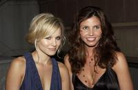 Kristen Bell and Charisma Carpenter at the UPN Stars Party.