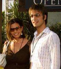 Charisma Carpenter and Damien Hardy at the world premiere of