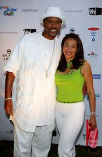 Jalen Rose and Jaci Wilson Reid at the VH1 Save The Music Foundation Benefit