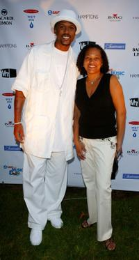 Jalen Rose and Christina Norman at the VH1 Save The Music Foundation Benefit