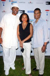 Jalen Rose, Christina Norman and Paul Cothran at the VH1 Save The Music Foundation Benefit