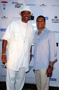 Jalen Rose and Paul Cothran at the VH1 Save The Music Foundation Benefit