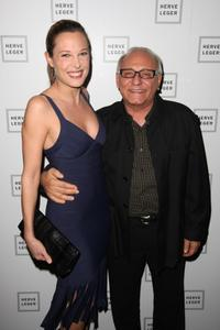Erin Daniels and Max Azria at the Mercedes-Benz Fashion Week Fall 2008.