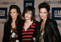 Erin Daniels, Katherine Moennig and Alexandra Hedison at the General Motors Ten event.