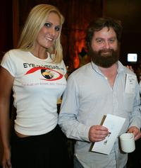 Zach Galifianakis and Guest at the HBO Comedy Festival.