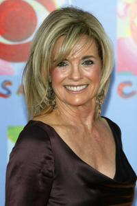 Linda Gray at the
