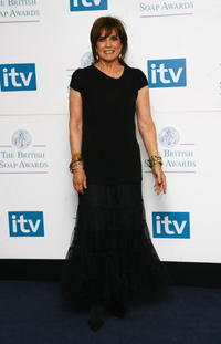 Linda Gray at the British Soap Awards 2008.