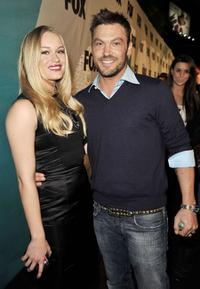 Leven Rambin and Brian Austin Green at the Fox TV's Winter All-Star Party.