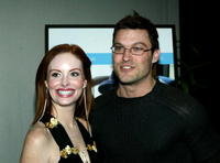 Phoebe Price and Brian Austin Green at the after party of