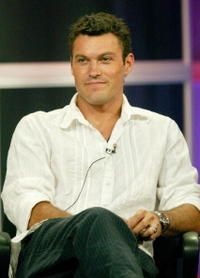 Brian Austin Green at the panel discussion for