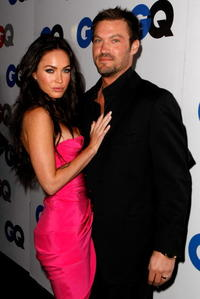 Megan Fox and Brian Austin Green at the GQ Men of the Year party.