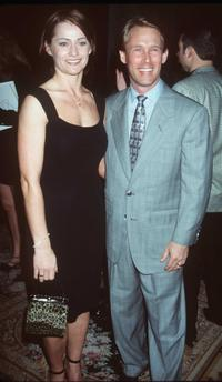 Nadia Comaneci and Bart Connor at the 11th Annual Magic Johnson Sports Star Dinner & Auction.