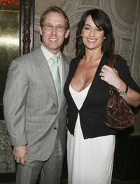 Bart Connor and Nadia Comaneci at the special screening of