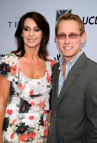Nadia Comaneci and Bart Connor at the premiere of