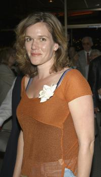 Catherine Dent at the after party of the Los Angeles premiere screening of