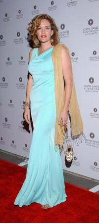 Catherine Dent at the New York City Ballet Gala.
