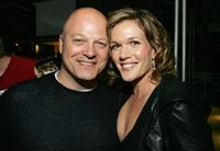 Michael Chiklis and Catherine Dent at