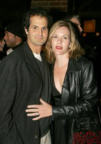 Peter Eliasberg and Catherine Dent at the after party of Cure Autism Now's 3rd annual