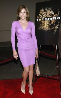Catherine Dent at the third season premiere screening of