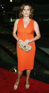 Catherine Dent at the premiere screening of