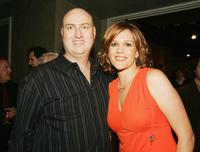 Producer Shawn Ryan and Catherine Dent at the premiere screening of