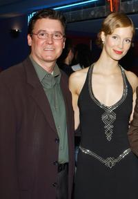 Bob Chmiel and Laura Regan at the world premiere screening of