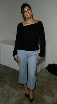 Jennifer Gimenez at the Mercedes-Benz Shows LA Spring/Summer 2004 Collections.