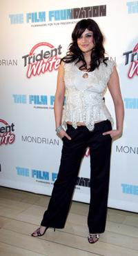 Jennifer Gimenez at The Trident White Black and White party.