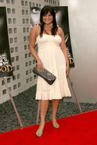 Jennifer Gimenez at the premiere of