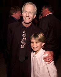 Paul Hogan and Serge Cockburn at the post-premiere party of