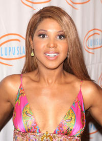 Toni Braxton at the 9th Annual Lupus LA Orange Ball in California.