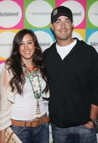 Vanessa Carlton and Carson Daly at the Entertainment Weekly's