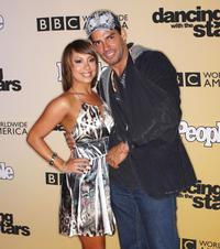 Cheryl Burke and Cristian de la Fuente at the 100th Episode of Dancing With The Stars.