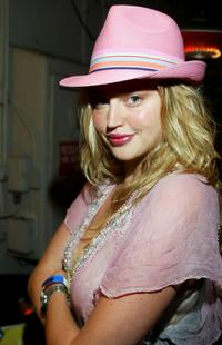 Estella Warren at the Young Storytellers Foundation Party.