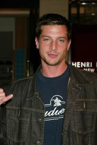 Simon Rex at the party celebrating the new Language Shop.
