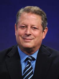 Al Gore at the Clinton Global Initiative.