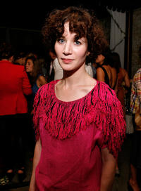 Miranda July at the Moet & Chandon and Joanna Newsom Celebrate Rodarte's Spring 2009 Collection in New York.