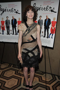 Miranda July at the after party of the New York premiere of