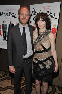 Mike Mills and Miranda July at the after party of the New York premiere of