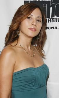 Elizabeth Rodriguez at the opening night of the New York International Latino Film Festival.