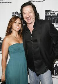 Elizabeth Rodriguez and Federico Castelluccio at the opening night of the New York International Latino Film Festival.