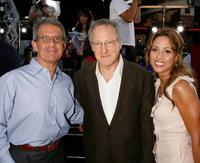 Ron Meyer, Michael Mann and Elizabeth Rodriguez at the premiere of