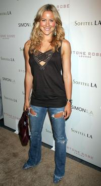 Brittany Daniel at the Stone Rose Lounge and Simon LA preview.