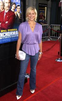 Brittany Daniel at the premiere of