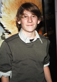 Erik Per Sullivan at the premiere of